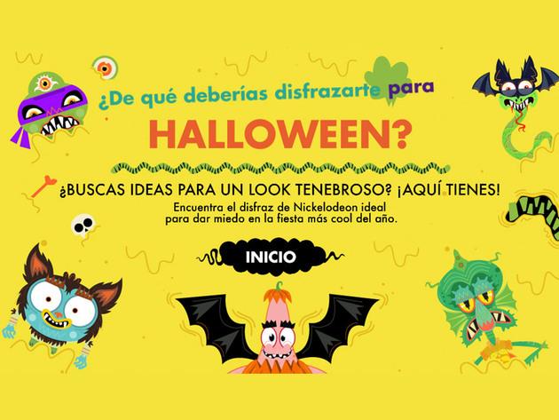 Nickelodeon: ¿De qué deberías disfrazarte para Halloween?