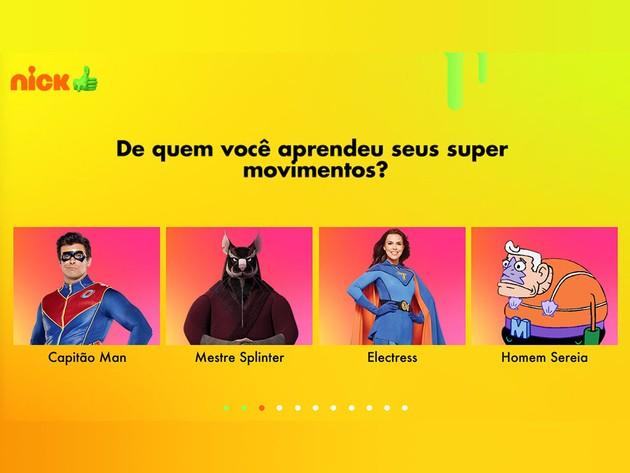 Qual Herói é Você?