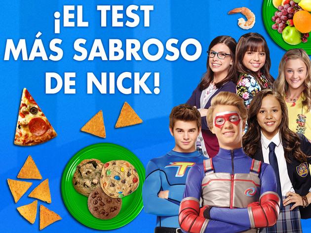 El Test Más Sabroso de Nick