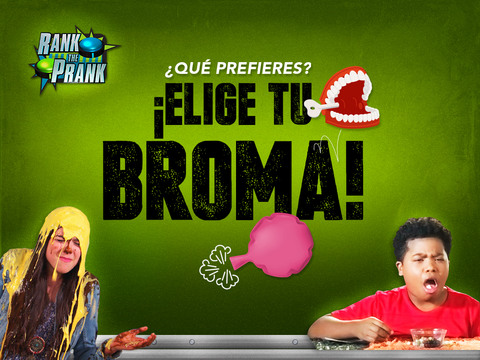 Rank the Prank: ¡Elige tu broma!