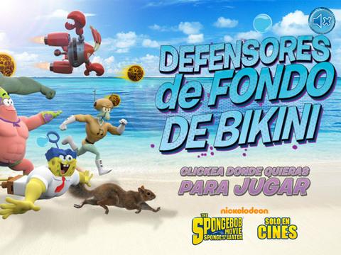 Bob Esponja: Defensores de Fondo de Bikini