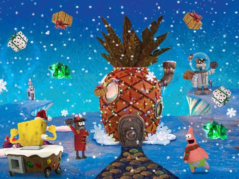 Bob Esponja: La Navidad de Bob Esponja