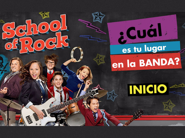 School of Rock: ¿Cuál es tu lugar en la banda?