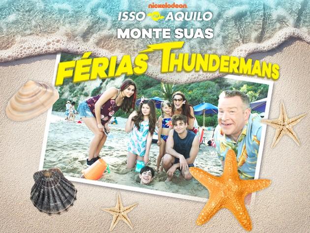 The Thundermans | Jogos | Monte suas férias Thundermans