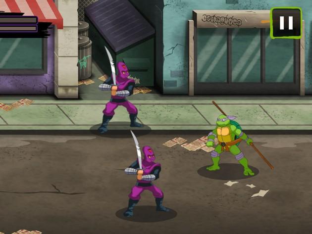 Las Tortugas Ninja: Lucha con Estilo Clásico