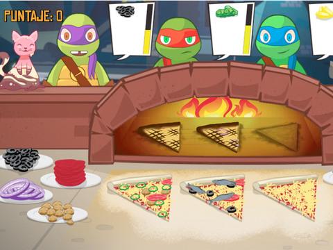 ¡Haz pizza como una tortuga!