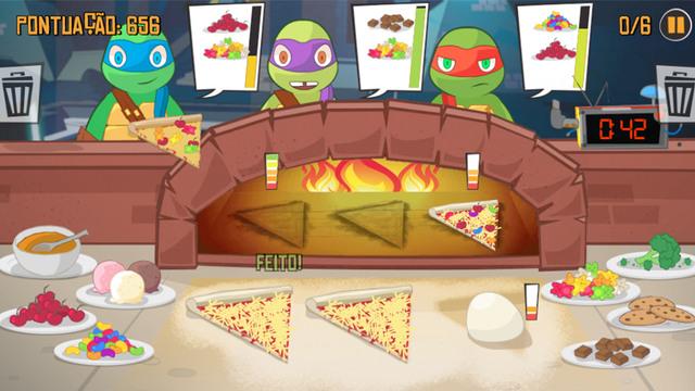 Faça Pizza Como Uma Tartaruga