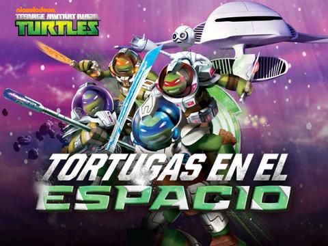 TMNT: Tortugas en el espacio