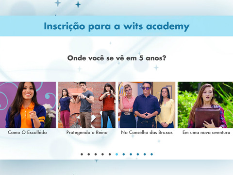 Inscrição para WITS Academy