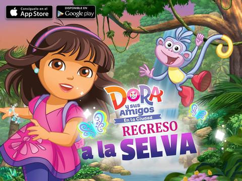 Dora y sus Amigos: En la Ciudad - Regreso a la Selva