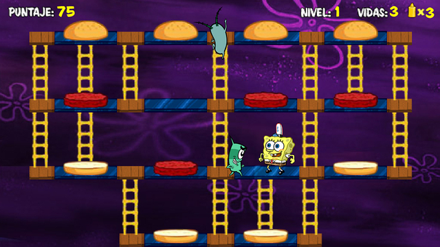 Bob Esponja  La hamburguesa del terror  Nickelodeon