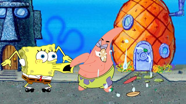 Bob Esponja  Lucha en los Corales  Nickelodeon