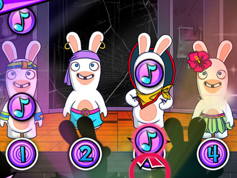 Rabbids Invasion - Ritmo