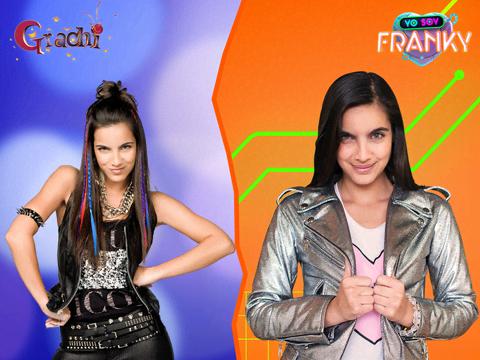 ¡Antes y después!: Grachi y Yo Soy Franky