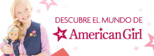 COMMERCIAL BUTTON AMERICAN GIRL