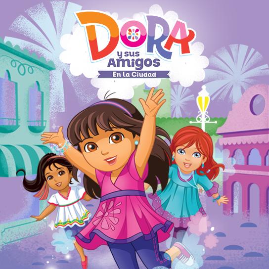 Dora from Dora y Sus Amigos | Mundonick.com