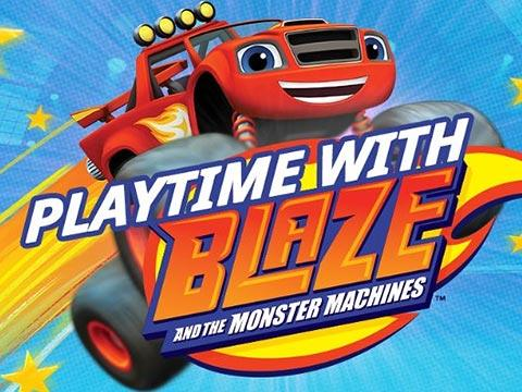 Playtime with Blaze and the Monster Machines