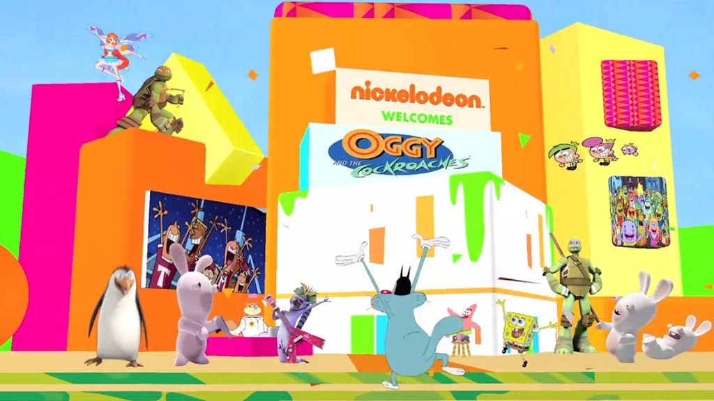nickelodeon oggy and the cockroaches games free