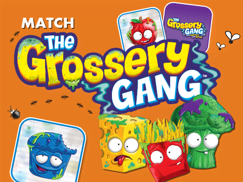 Match The Grossery Gang!