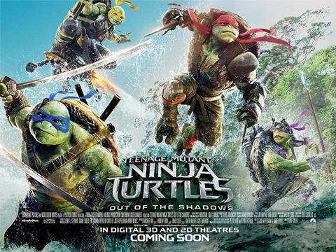 Teenage Mutant Ninja Turtles: Out Of The Shadows Giveaway