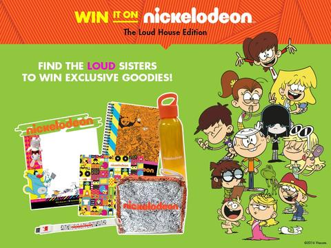 Win It On Nickelodeon: The Loud House Edition