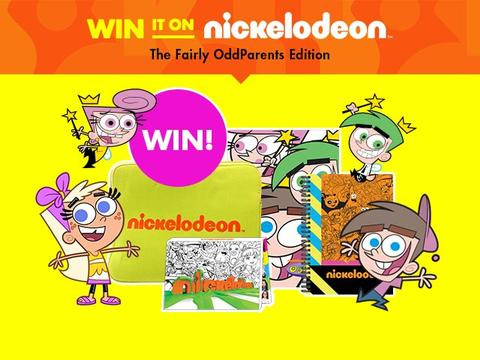 Win It On Nickelodeon: The Fairly OddParents Edition