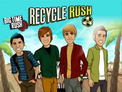 Big Time Rush: Recycle Rush