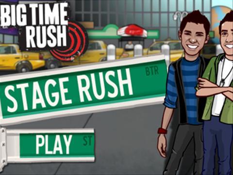 Big Time Rush   Stage Rush