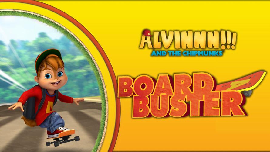 ALVINNN!!! and The Chipmunks: Board Buster