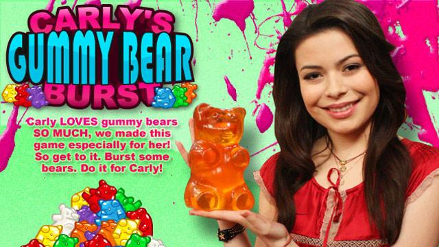 What are some online Gummy Bear games?