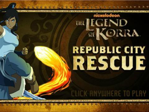 The Legend of Korra: Republic City Rescue