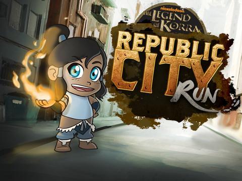 The Legend of Korra: Republic City Run