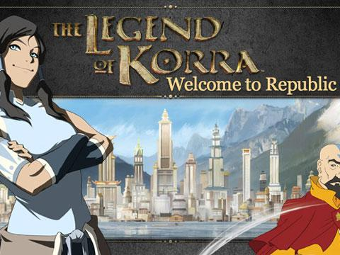 The Legend of Korra: Welcome to Republic City