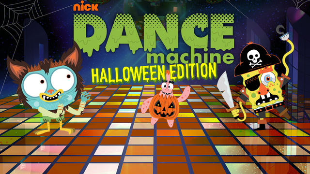 Nickelodeon Dance Machine Halloween Game | Nickelodeon