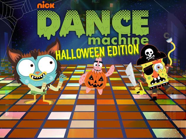 Nickelodeon: Dance Machine Halloween Edition