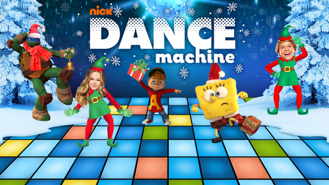 Nickelodeon Dance Machine Holiday Edition Nickelodeon
