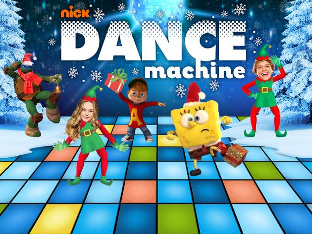 Nickelodeon Dance Machine: Holiday Edition