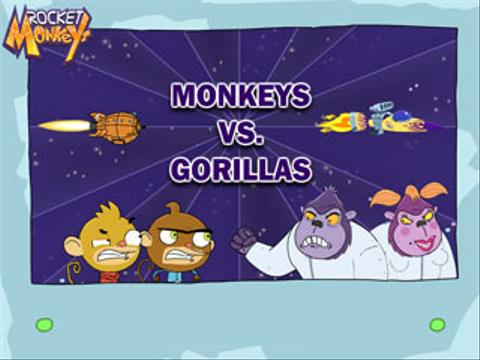 Rocket Monkeys | Monkeys Vs. Gorillas