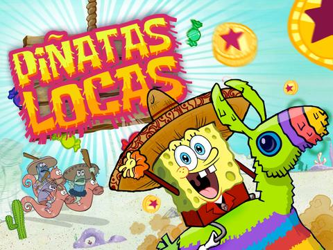 Spongebob SquarePants: Piñatas Locas