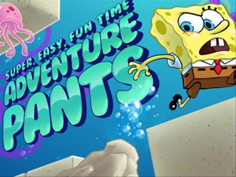 SpongeBob's Super Easy Fun Adventure Time Pants