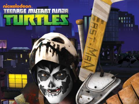 TMNT: Casey Jones Vs. Evil Robot Ninjas