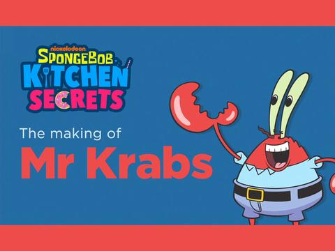 Secret Recipe: Mr. Krabs!