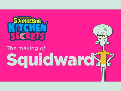 Secret Recipe: Squidward!