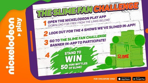 Nickelodeon Play - Slime Fan Challenge!