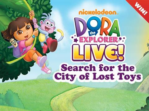 Win Tickets to Dora Live!