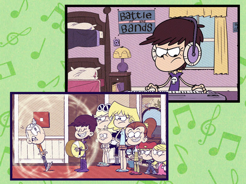 The Loud House | Short | Una casa con mucho ritmo