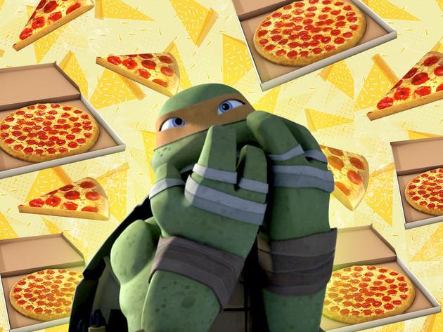 Attrape la pizza