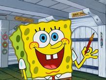 Spongebob Golden Moment: The Giant Paint Bubble