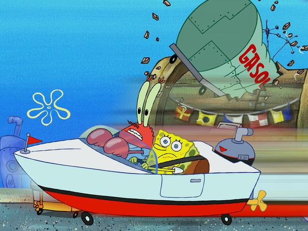 SpongeBob Golden Moment: Mr. Krabs' Driving Lesson