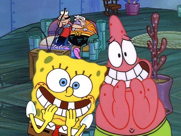 Spongebob Golden Moment: Mermaidman and Barnacleboy